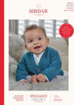 Sirdar Snuggly Baby Cashmere Merino DK Knitting Pattern Booklet - 5250 Cardigans
